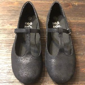 Girls black dress shoes